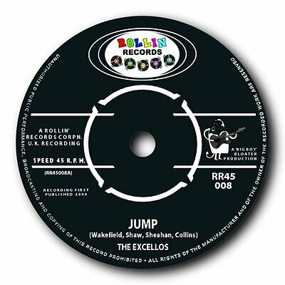 "The Excellos -""jump"" Mean And Great Blues Bopper - Listen To Both Sides"