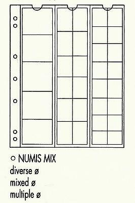 LIGHTHOUSE NUMIS 33 Pocket COIN PAGES Pack of 5 NH33