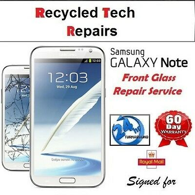 Samsung Note 1 N7000 Screen Replacement Cracked Front Glass Repair Service