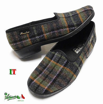Pantofole ciabatte a scarpa donna Made In Italy comode calde invernali Rondine