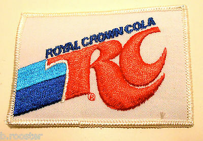 Royal Crown Soda patch Soft Drink 4 inches   Iron On