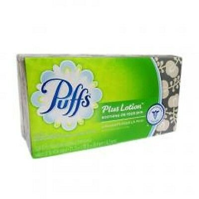 Puffs Plus Lotion Facial Tissues  2-ply pack of 124