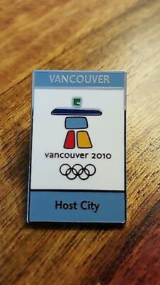 Vancouver 2010 Host city 2006 pin