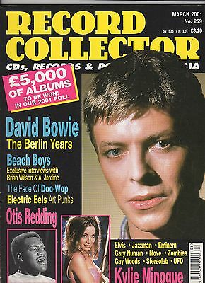 David Bowie Record Collector Mag March 2001 UK The Berlin Years,Beach Boys &
