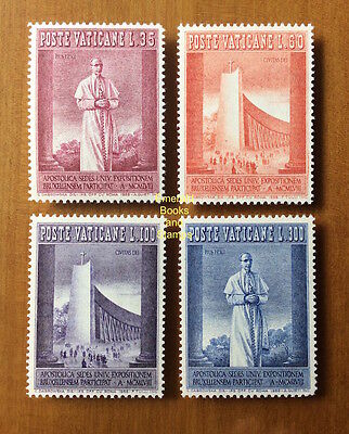 EBS Vatican City Città del Vaticano 1958 Brussels World's Fair 239-242 MNH**