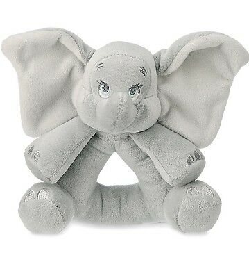 AUTHENTIC DISNEY Dumbo Plush Rattle for Baby NWT