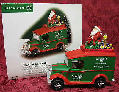 Department 56~Christmas Village Express~Retired