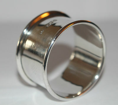 Solid Silver Napkin Ring Sheffield 1919