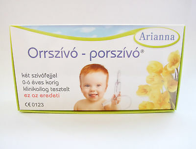 Arianna Baby Vac Nasal Aspirator Nose Cleaner Infants Children suctioning device