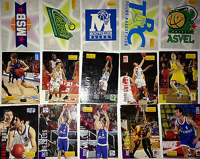 Lot 15 Cartes Basket Snb Lnb 1995/96 Special Merlin Ultimate