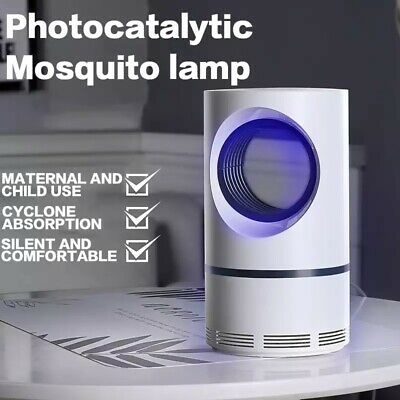 Mosquito Bug Zapper Electric Photocatalytic Suction Pest Killer UV LED Lamp Trap