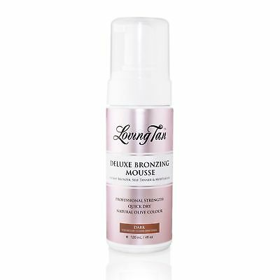 Loving Tan Deluxe Bronzing Mousse Dark Tanning 120Ml