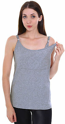 Fashion Sleeveless Tank Top Breastfeeding Maternity Nursing Top