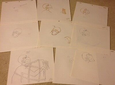 Anime Genga not Cel Lupin 26 pages #1