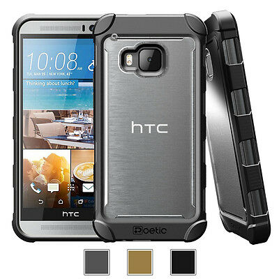 Poetic Affinity【Hybrid Rubber Shockproof】Protective Case Cover For HTC One M9