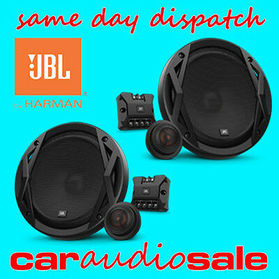 "Jbl Harman Club 6500C 360 Watts 6.5"" 16.5Cm 2 Way Component Car Van Speakers"