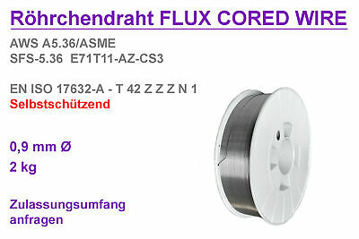 2KG Fülldraht 0,9mm Hunday Supershield 11 TYPE : Self-Shielded