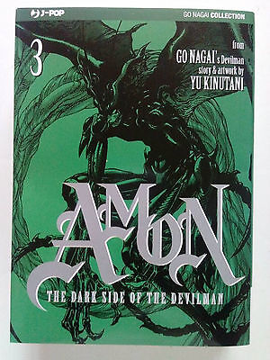 Amon - The Dark Side of the Devilman n. 3 di Go Nagai, Yu Kinutani - ed. JPop