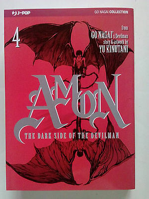 Amon - The Dark Side of the Devilman n. 4 di Go Nagai, Yu Kinutani - ed. JPop
