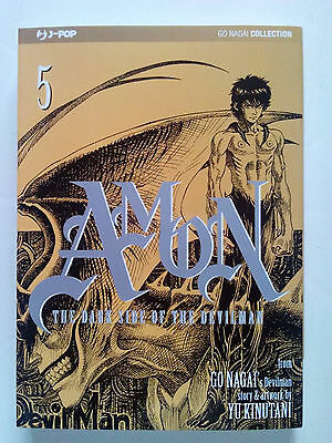 Amon - The Dark Side of the Devilman n. 5 di Go Nagai, Yu Kinutani - ed. JPop