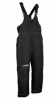 Katahdin Gear Youth Back Country Bib (Black) X-Small (Size 6)