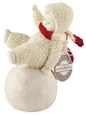 Dept 56 Snowbabies Dont Fall Off Figurine Ornament Figure 11cm 4050071 New