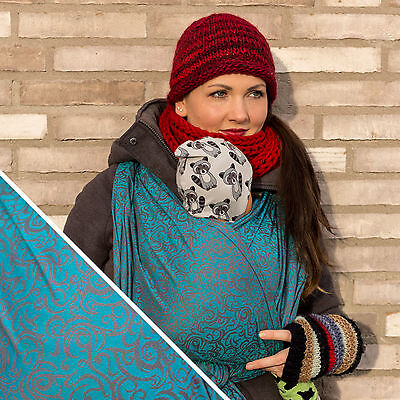"Huckepack Tragetuch & Sling ""Tendril"" Größe 4 5 6 Woven Wrap Baby-Roo"