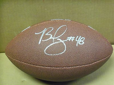 Bud Dupree, Pgh Steelers / Kentucky, Signed Wilson Full Size NCAA Football