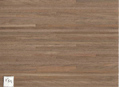 Black Walnut wood Flooring Sheet dollhouse #7021  1p Houseworks 1/12 scale