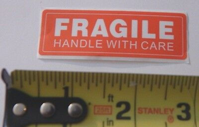 Sticker Fragile One Single .99 Cent Buy It Now Auction Free Shipping 99 Cents