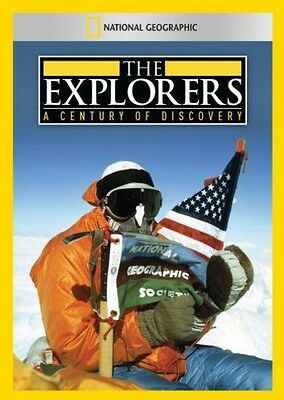 Explorers: A Century of Discovery (2014, DVD NUOVO) (REGIONE 1)