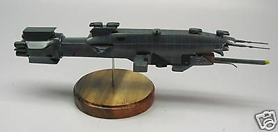 Destroyer Warlock Earth Force Babylon-5 Spacecraft Desk Wood Model Small New