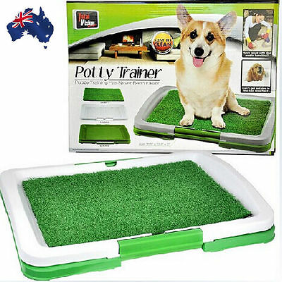 Portable Pet Dog Toilet Training Puppy  Indoor Potty Pad Tray Loo PTOIL3346