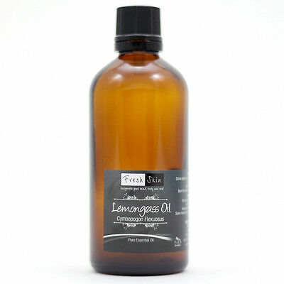 100ml Lemongrass Pure Essential Oil