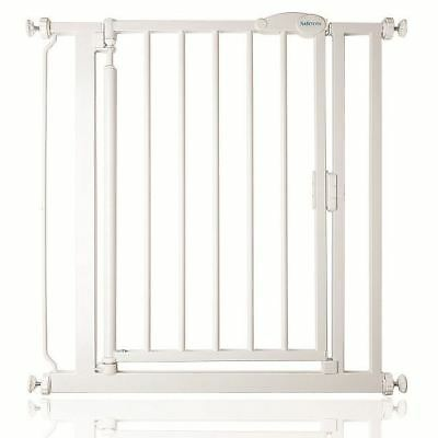Safetots Extra Narrow Self Closing Baby Safety Gate - Pressure Fit 61cm-66.5cm