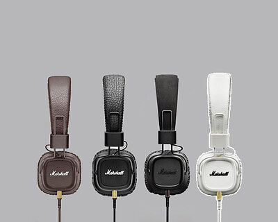 Marshall Major II Headphones With Mic Available In Brown Black White Pitch Black