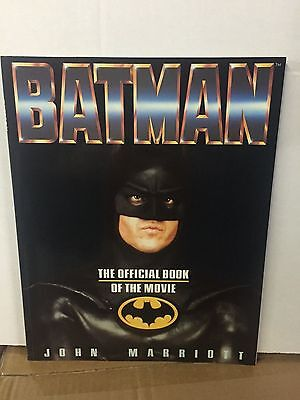 BATMAN Official Program Book, 1989 Tim Burton Michael Keaton, FREE SHIPPING