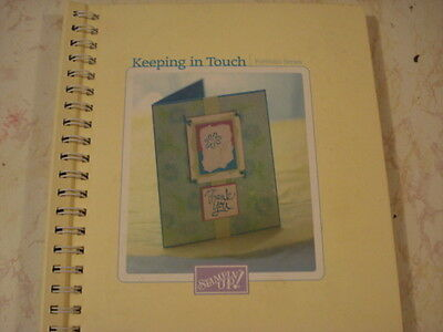 Stampin Up Keeping In Touch Portfolio Series Idea Book Hard Cover