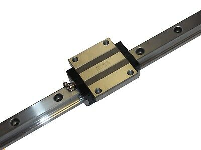 Linear Guide - Recirculating Ball Bearing - arc35-fn (Wagon + Track) -