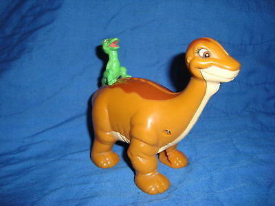 "Land Before Time Littlefoot coin bank Wendy's Restaurant Toy 4.5"" Tall"