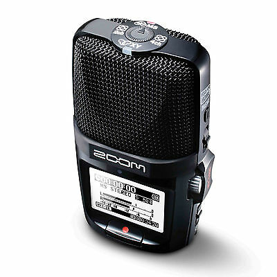 Zoom H2n Handy Handheld Digital Audio Recorder