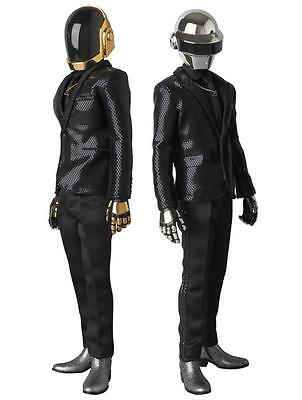 "Daft Punk Random Access Memories Real Action Heroes 12"" Figures 1/6 RAH Set of 2"
