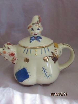 Shawnee Pottery Tom The Pipers Son Teapot