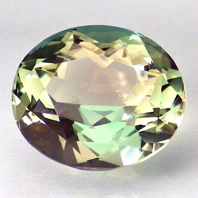 GREEN PINK DICHROIC OREGON SUNSTONE 3.80Ct FLAWLESS-BEAUTIFUL JEWELRY/INVESTMENT