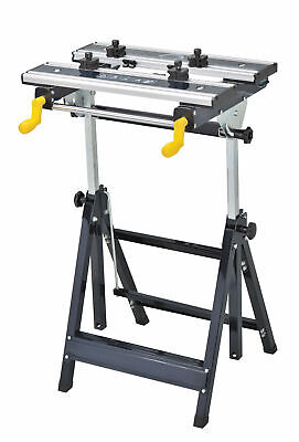 BRAND New Foldable Workbench Saw Horse Trestle Work Bench Stand Adjustable Angle