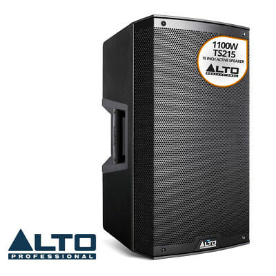 Alto Truesonic 2 Series TS215 DJ PA Active Powered 15 Inch Speaker Cabinet 1100W