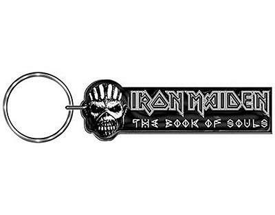 Official Licensed - Iron Maiden - Book Of Souls Keychain Metal Eddie Keyring
