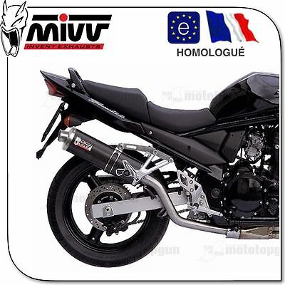 Pot Échappement Mivv Oval Carbone As017L3 Suzuki Gsf 650 Bandit 2005 05 2006 06