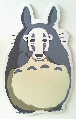 Totoro Spirited Away Sticker PVC 3M Luggage Laptop Phone Studio Ghibli Miyazaki