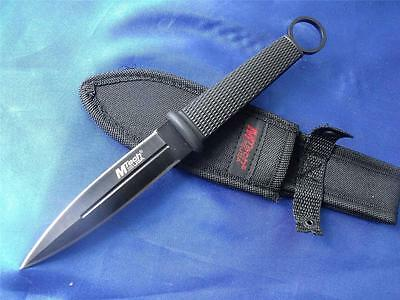 Sharp Brand New Double Edged USA MTECH Hunting Knife D061